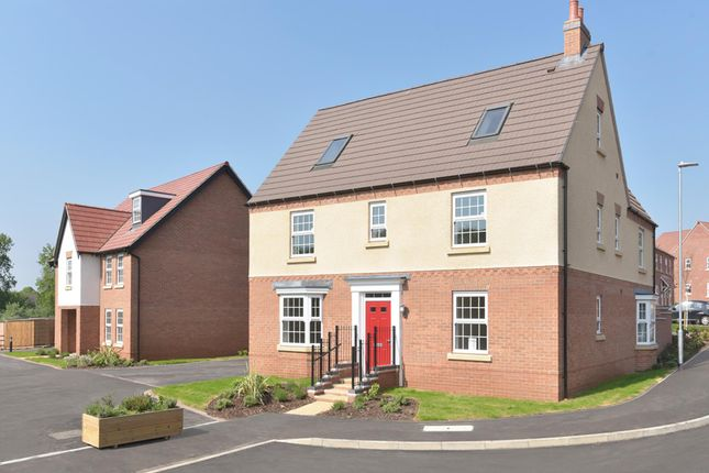 "Thumbnail Detached house for sale in ""Moorecroft"" at Welbeck Avenue, Burbage, Hinckley"