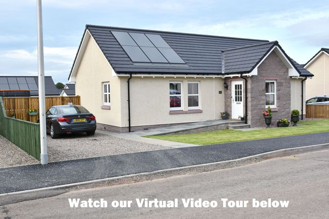 Thumbnail Detached bungalow for sale in Heather Bank, Friockheim, Arbroath