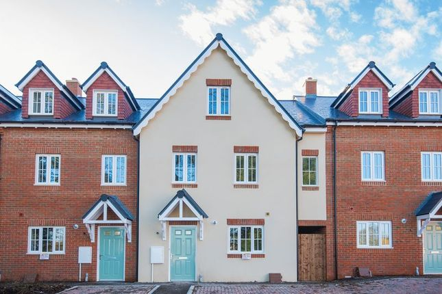 Thumbnail Terraced house for sale in St. James Court, Cedar Avenue, Hazlemere, High Wycombe