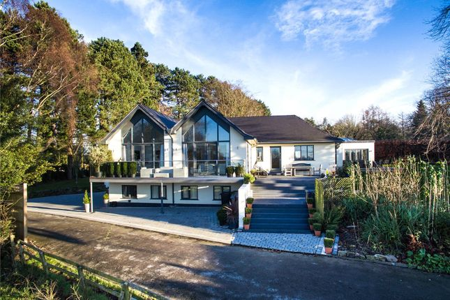 Thumbnail Detached house to rent in Wilmslow Road, Mottram St. Andrew, Macclesfield, Cheshire