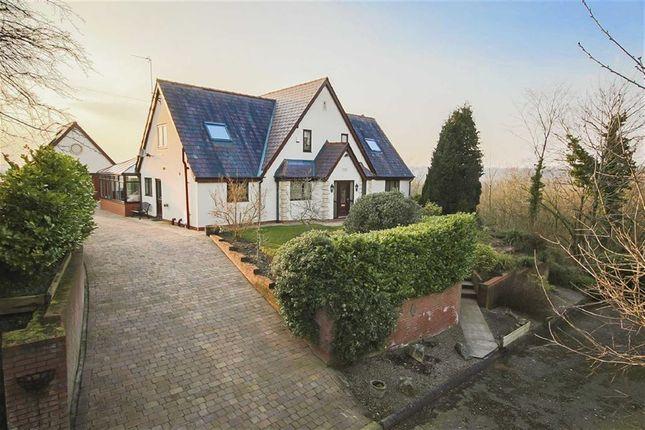 Thumbnail Detached house for sale in Vicarage Lane, Samlesbury, Preston