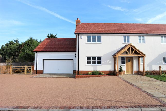Thumbnail Semi-detached house for sale in Bumbles Green, Nazeing, Essex.