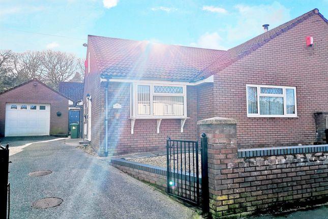 Thumbnail Semi-detached bungalow for sale in Rock Terrace, Ynysybwl, Pontypridd