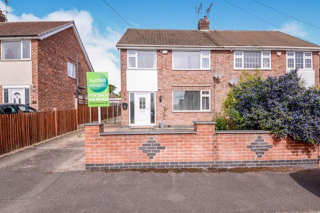 Thumbnail Semi-detached house for sale in Westland Avenue, Hucknall, Nottingham