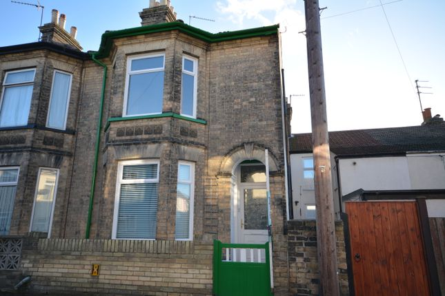 Thumbnail End terrace house to rent in Clifton Road, Lowestoft, Suffolk
