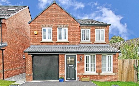 Thumbnail Detached house for sale in Gower Way, Rawmarsh, Rotherham
