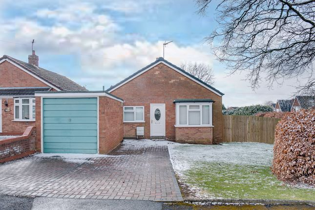 Thumbnail Detached bungalow for sale in Sheltwood Close, Webheath, Redditch