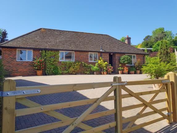 Thumbnail Bungalow for sale in Park Crescent, Midhurst, West Sussex