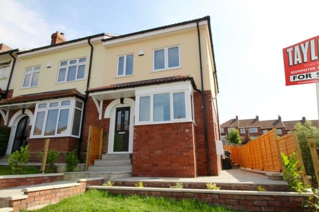Thumbnail End terrace house for sale in Fitzgerald Road, Lower Knowle, Bristol