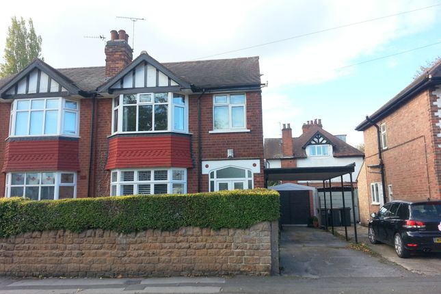 Thumbnail Semi-detached house to rent in Beeston, Nottingham