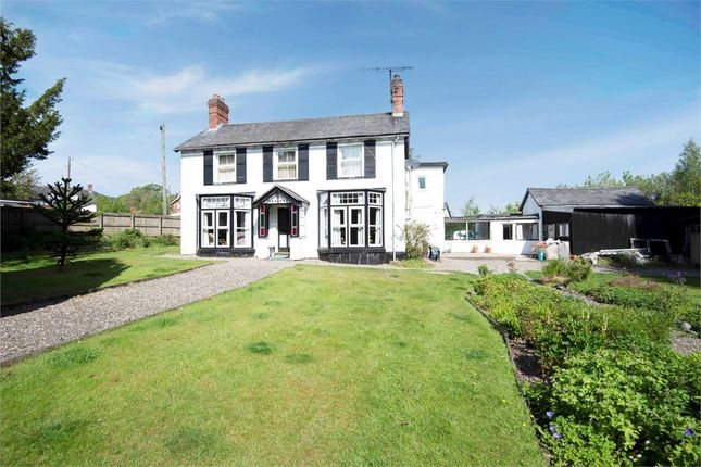 Thumbnail Detached house for sale in Carno Road, Caersws, Powys