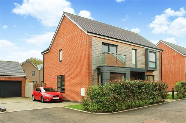 Thumbnail Detached house for sale in Cheshire Avenue, Locking Parklands, Weston-Super-Mare, North Somerset.