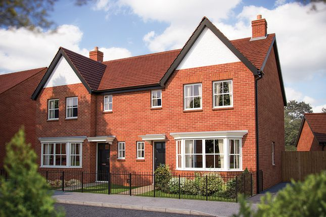 "Thumbnail Semi-detached house for sale in ""The Horton"" at Salford Road, Bidford-On-Avon, Alcester"