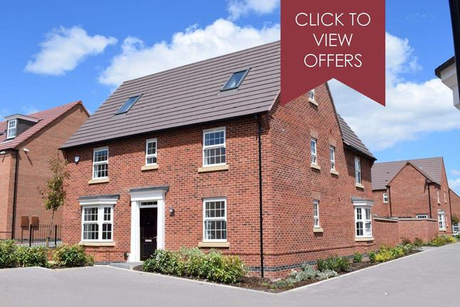 "Thumbnail Detached house for sale in ""Moorecroft"" at The Parade, Oadby, Leicester"