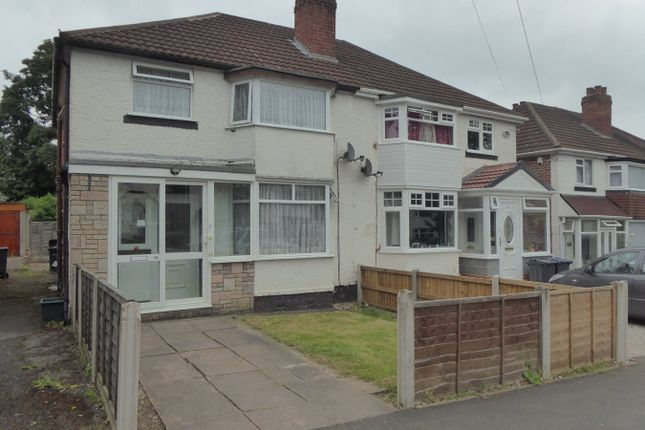 Thumbnail Semi-detached house for sale in Moorpark Road, Birmingham