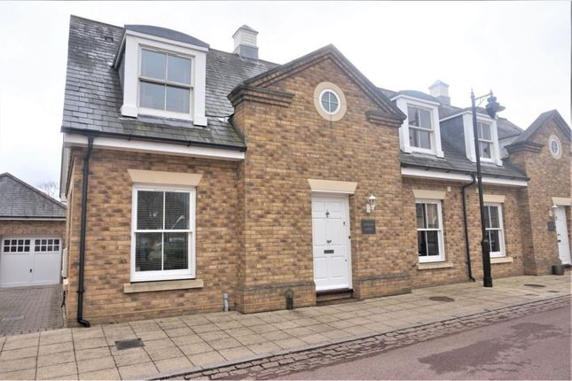 Thumbnail Semi-detached house for sale in Orchid Close, Goffs Oak, Waltham Cross