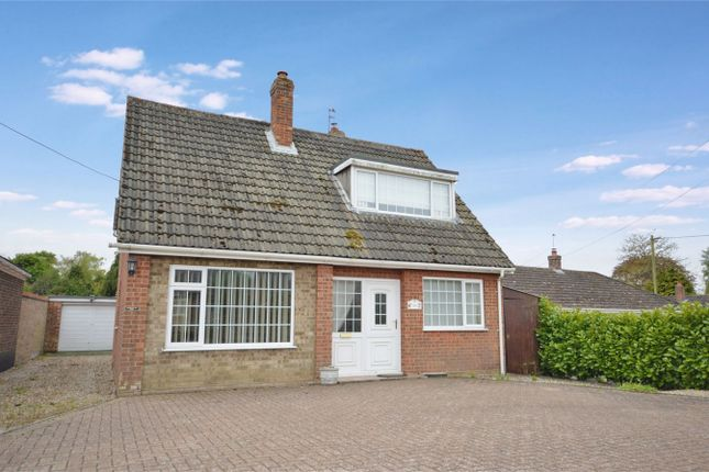 Thumbnail Detached bungalow for sale in Mill Road, Stoke Holy Cross, Norwich