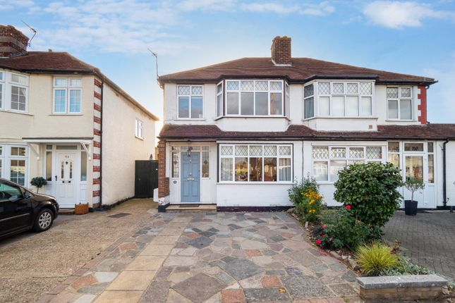 3 bed semi-detached house for sale in Marlow Drive, Cheam, Sutton, Surrey SM3