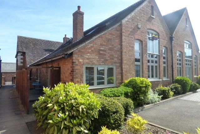 Thumbnail Flat for sale in Old School Yard, Sapcote, Leicester, Leicestershire