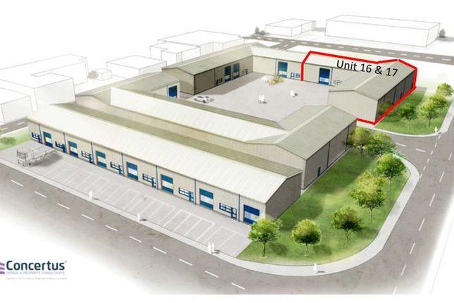 Thumbnail Property to rent in Units 16 & 17, Phoenix Enterprise Park, Gisleham, Lowestoft