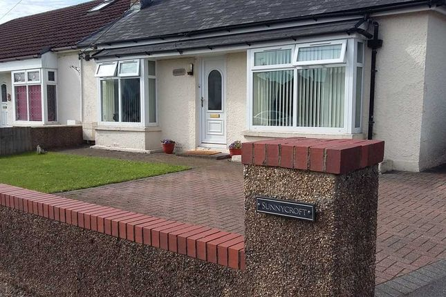 Thumbnail Bungalow to rent in Sunnycroft, Crown Hill, Pontypridd