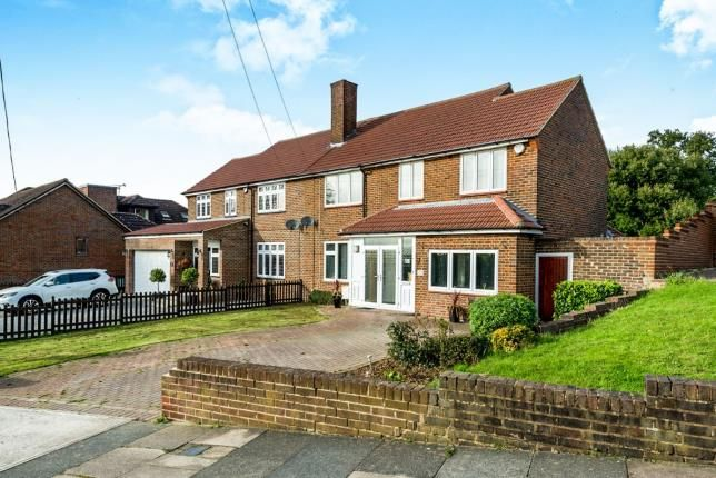 Thumbnail Semi-detached house for sale in Noak Hill, Romford, Havering