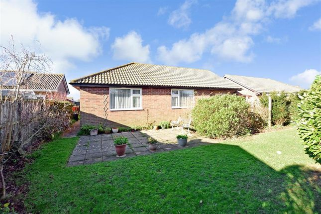 Thumbnail Detached bungalow for sale in Pursley Close, Merrie Gardens, Sandown, Isle Of Wight