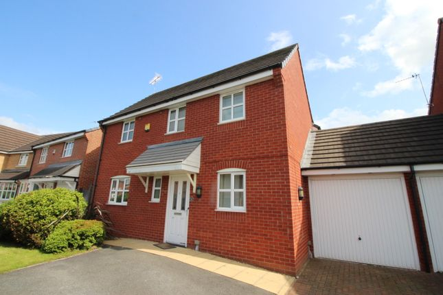 Thumbnail Detached house to rent in Maypole Crescent, Abram, Wigan