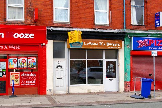 Retail premises to let in Brighton Street, Wallasey