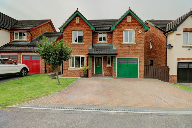 Thumbnail 4 bed detached house for sale in Kingston Mews, Houghton Le Spring