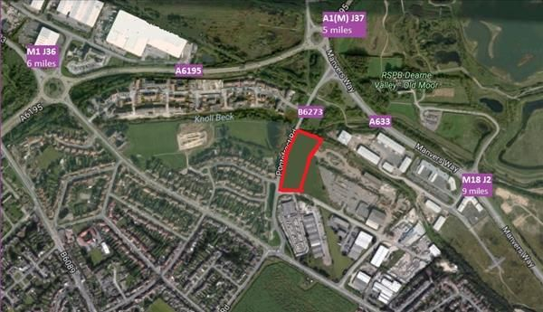 Thumbnail Land to let in Plot 1, Derwent Way, Wath-Upon-Dearne, Rotherham