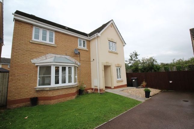Thumbnail Detached house to rent in Churchwood, Griffithstown, Pontypool