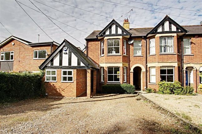 Thumbnail End terrace house for sale in Station Road, Cheddington, Station Road