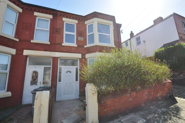 Thumbnail End terrace house to rent in St. Brides Road, Wallasey