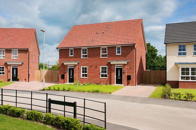 "Thumbnail Semi-detached house for sale in ""Folkestone"" at Lightfoot Lane, Fulwood, Preston"