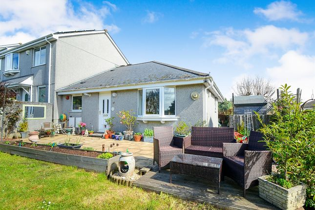 Thumbnail Terraced bungalow for sale in Stokelake, Chudleigh, Newton Abbot