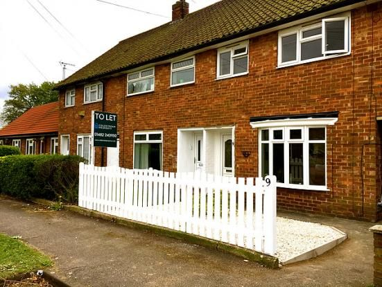 Thumbnail Terraced house to rent in Coldstream Close, Hull, East Riding Of Yorkshire