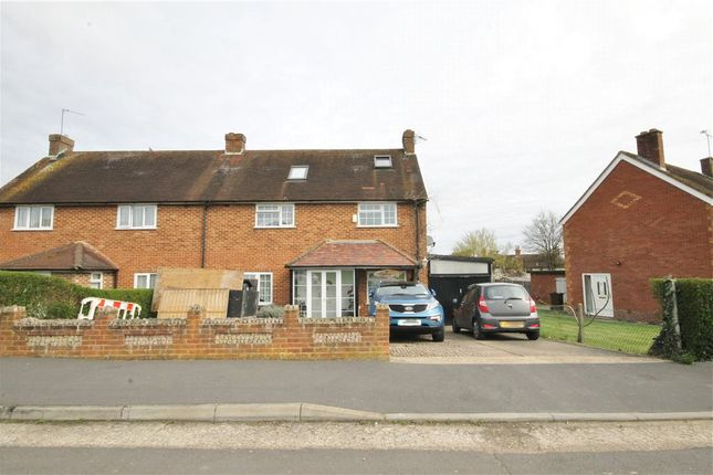 Thumbnail End terrace house for sale in Sandfields, Send, Woking, Surrey