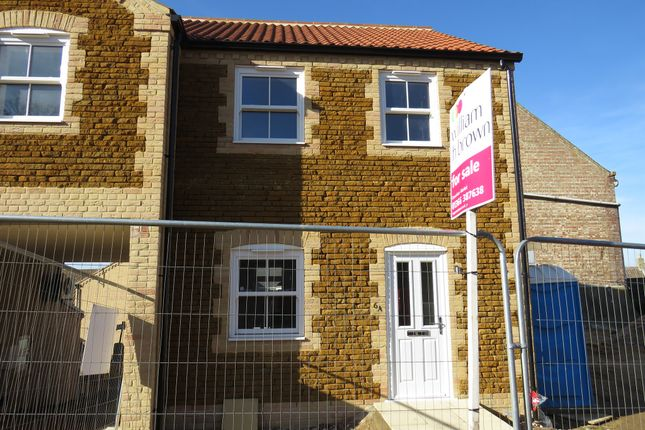 Thumbnail End terrace house for sale in Church Road, Downham Market