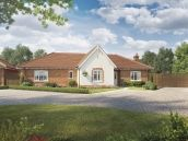 Thumbnail Bungalow for sale in The Nelson At Saxon Meadows, Capel St Mary, Suffolk