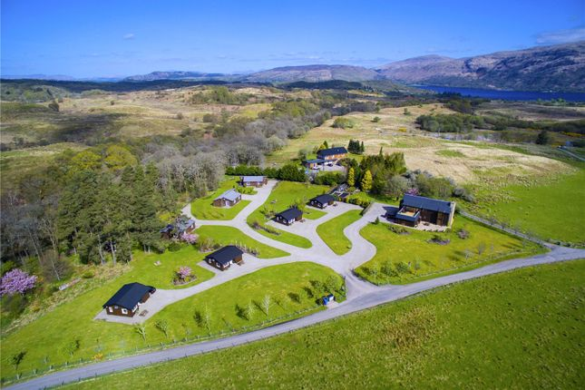 Thumbnail Detached house for sale in Airdeny Lodge & Chalets, Taynuilt, Argyll