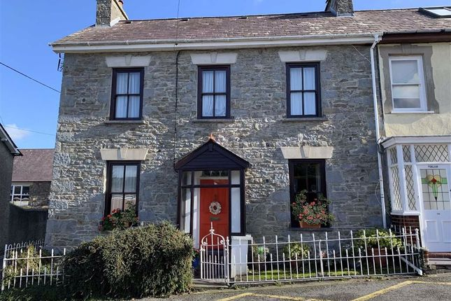 Thumbnail End terrace house for sale in Francis Street, New Quay, Ceredigion