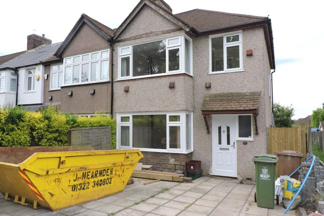 Thumbnail Semi-detached house to rent in Park Mead, Sidcup