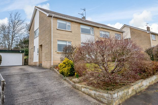 Thumbnail Semi-detached house for sale in Meadow Park, Bath