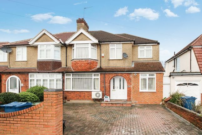 Thumbnail Semi-detached house for sale in High Worple, Harrow