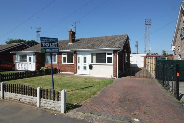 Thumbnail Semi-detached bungalow to rent in Southfield Road, Armthorpe, Doncaster
