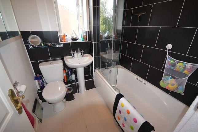 Bathroom of Golding Close, Chessington, Surrey. KT9