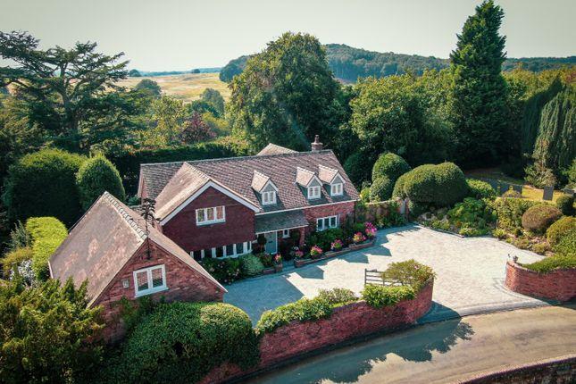 Thumbnail Detached house for sale in Cedar Tree Cottage, School Lane, Hints