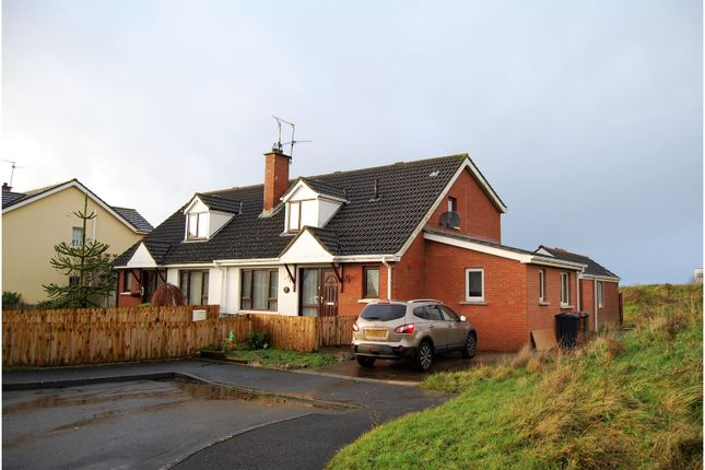Thumbnail Semi-detached house for sale in Highfield Park, Craigavon