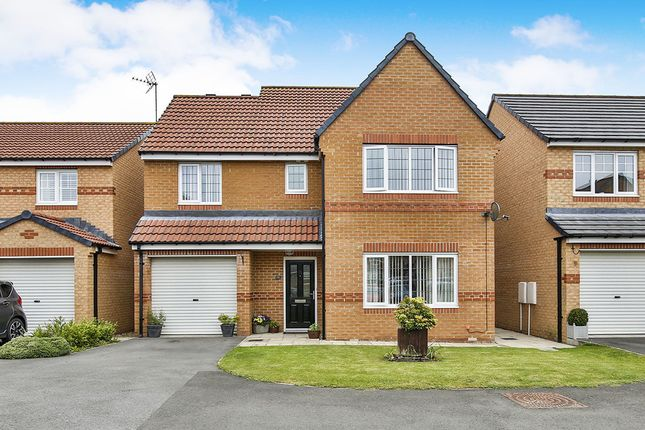 Thumbnail Detached house for sale in Cloverhill Court, Stanley
